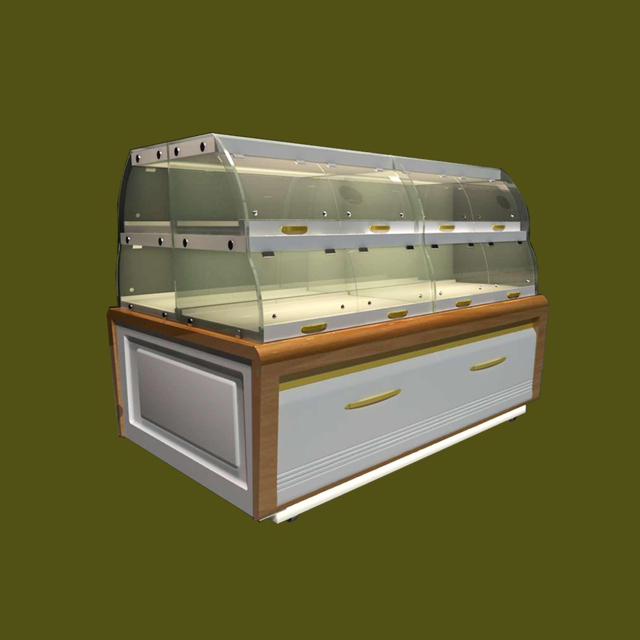 中岛柜03 - 新麦城蛋糕柜,西点柜,保鲜柜
